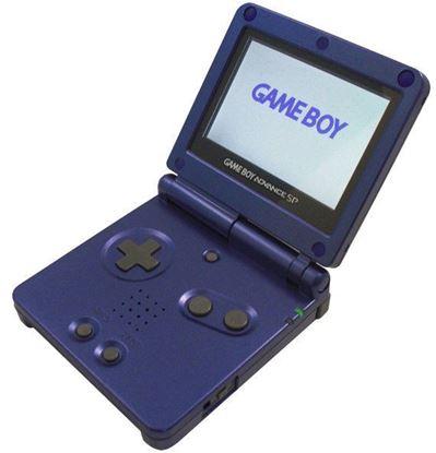 Afbeeldingen van Game Boy Advance SP Cobalt Blue AGS-001