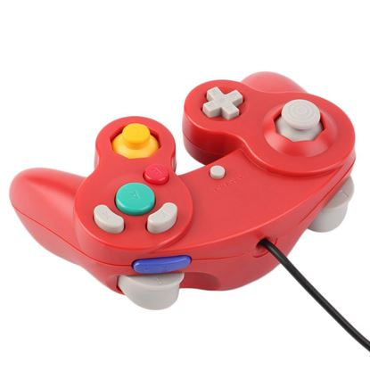 Picture of Red Third party GameCube controller