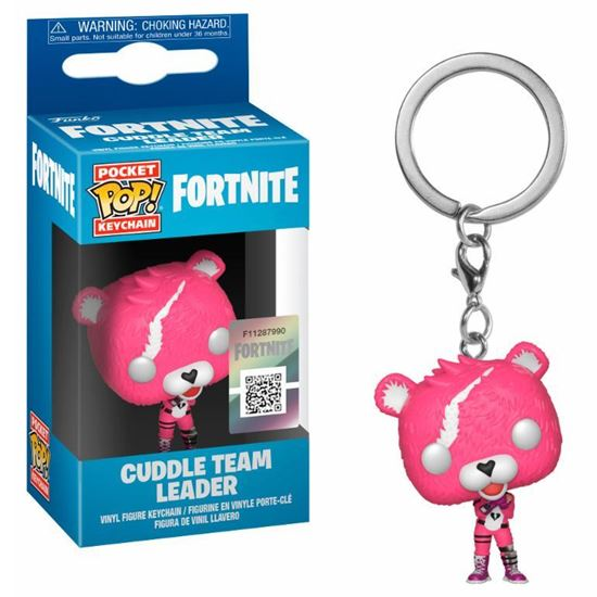Picture of Pocket POP keychain Fortnite Cuddle Team Leader