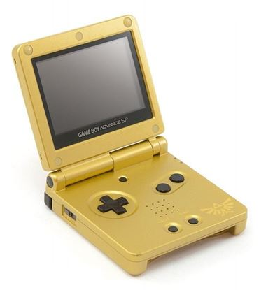 Picture of Game Boy Advance SP Legend of Zelda AGS-001
