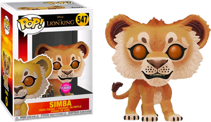 Picture of Pop Figure Exclusive Lion King Simba Flocked