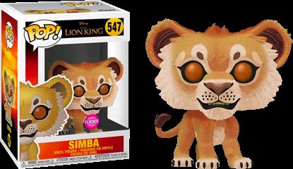 Afbeeldingen van Pop Figure Exclusive Lion King Simba Flocked