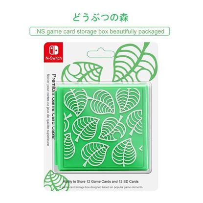 Afbeeldingen van Nintendo Switch Game Card Holder - Animal Crossing