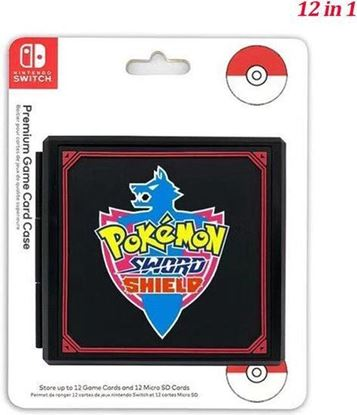 Afbeeldingen van Nintendo Switch Game Card Holder -  Pokemon Sword and Shield