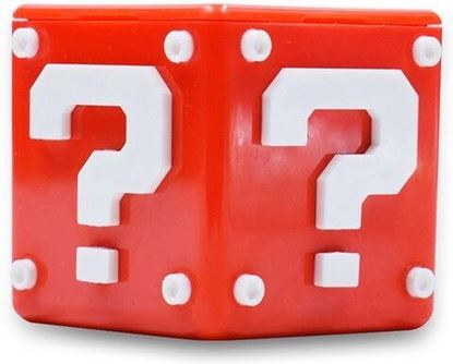 Afbeeldingen van Nintendo Switch Game Card Holder -  Mario Cube red