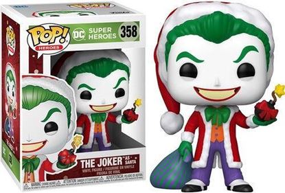 Picture of Pop Figure Holiday Santa Joker