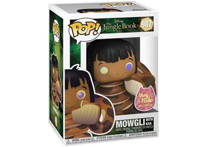 Picture of Pop Figure Jungle Book Mowgli with Kaa
